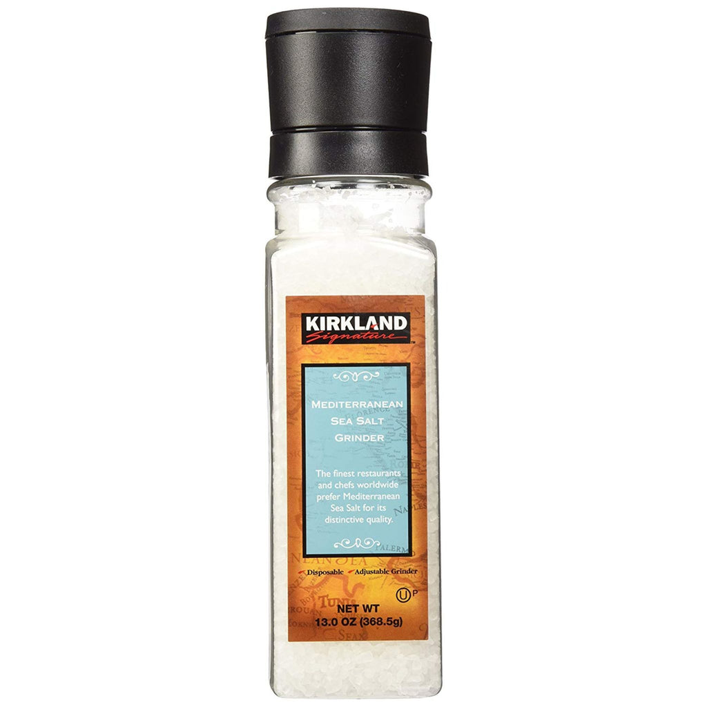 Kirkland Signature, Mediterranean Sea Salt, 13 oz