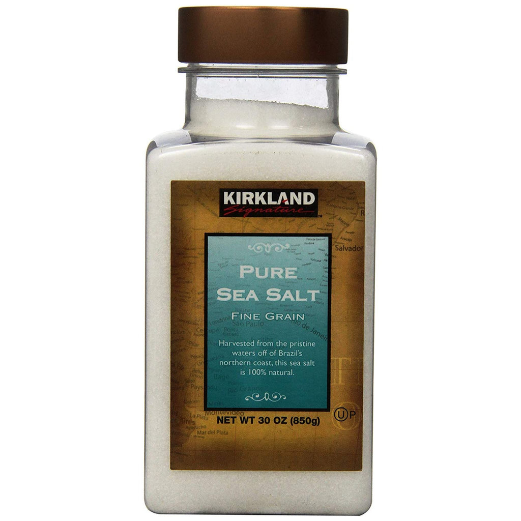 Kirkland Signature, Pure Sea Salt, 850 g