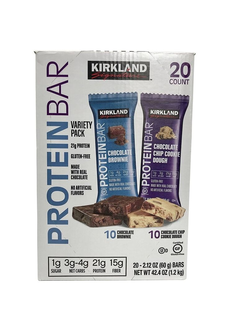 Kirkland Signature, Protein Bars, 20 ct (BB: 18-Feb-2020)