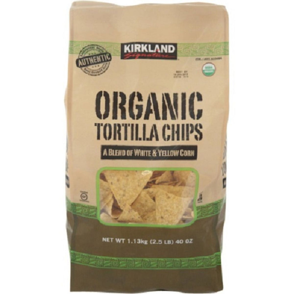 Kirkland Signature, Organic Tortilla Chips, 40 oz