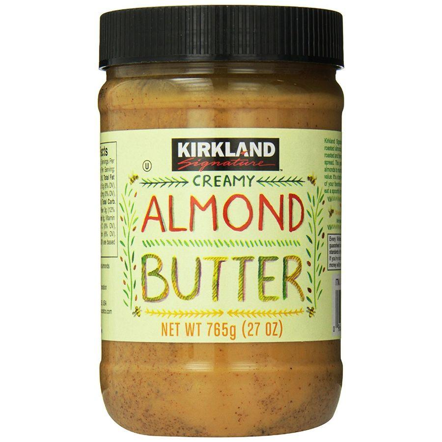 Kirkland Signature, Creamy Almond Butter, 26 oz  (BB: 30-01-2020)