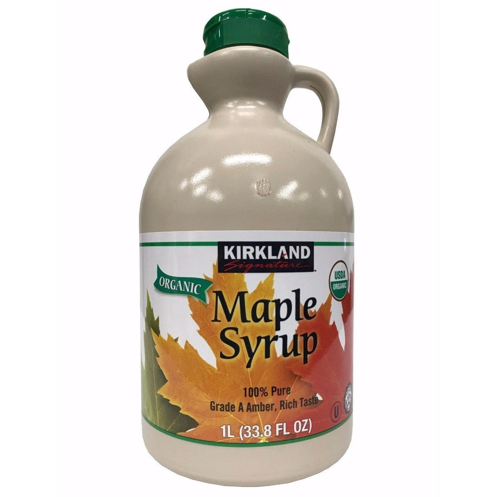Kirkland Signature, Organic Maple Syrup, 33.8 oz