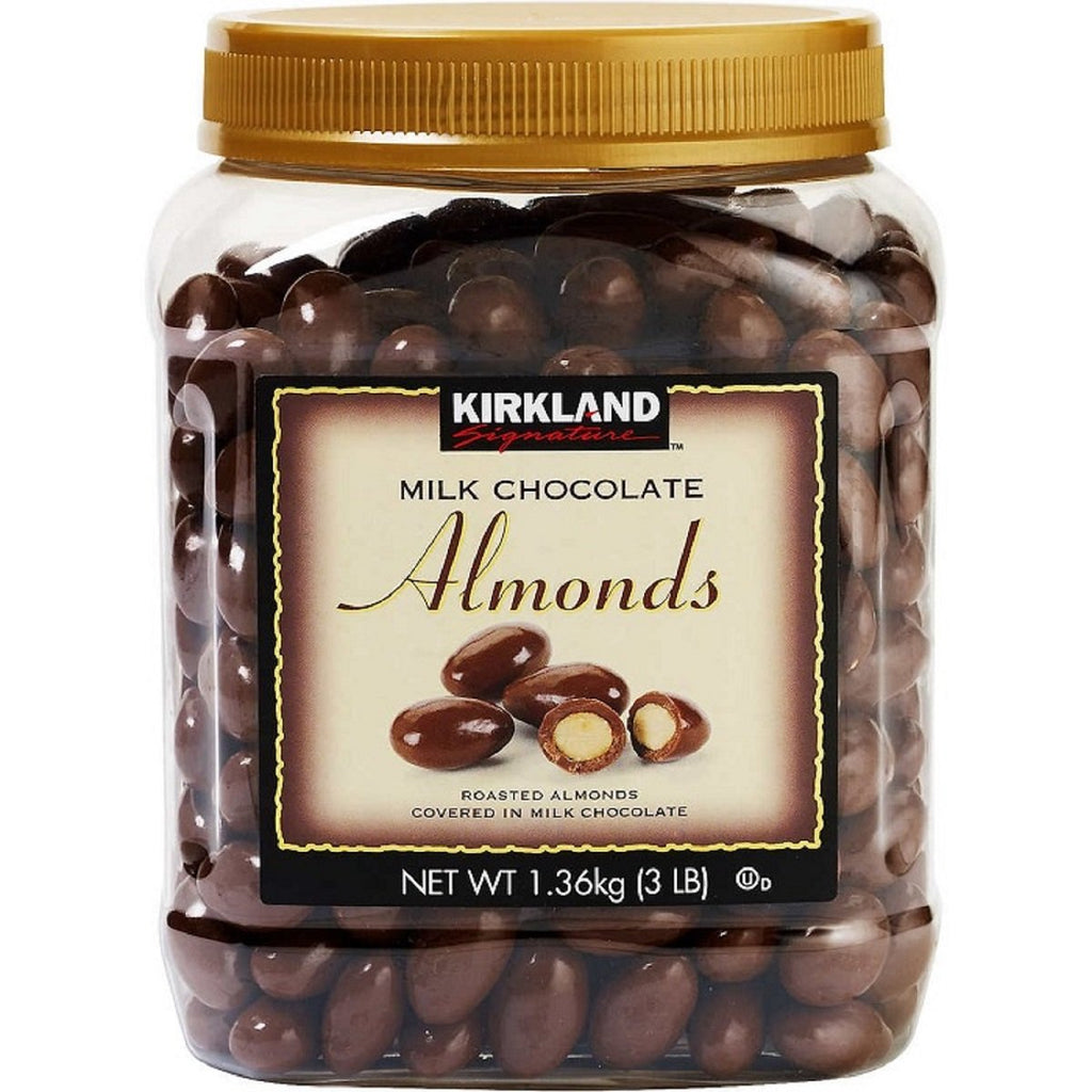 Kirkland Signature Milk Chocolate Almonds, 48 oz