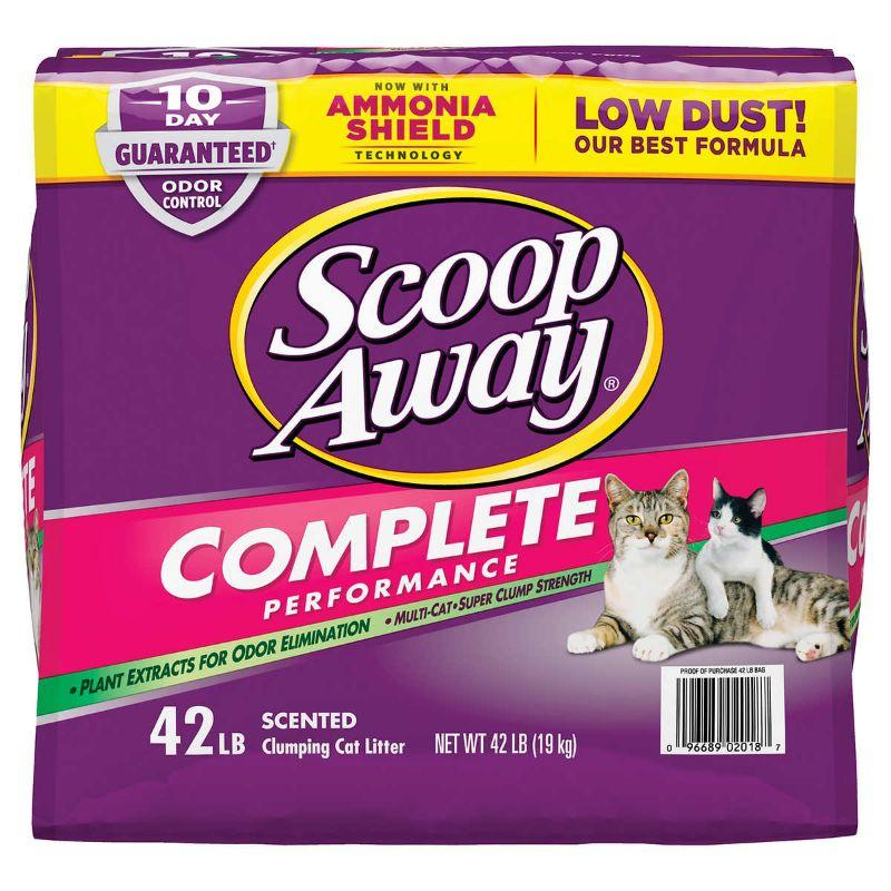 Scoop Away Complete Performance Scented, 42 lb