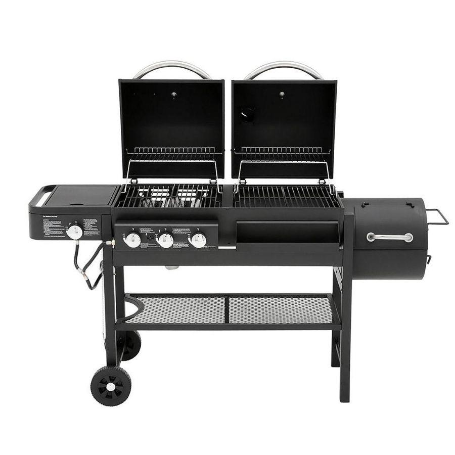 Smoke Hollow Gas and Charcoal Grill - Black