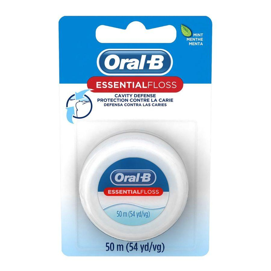 Oral-B Essential Floss-Mint, 55 Yd