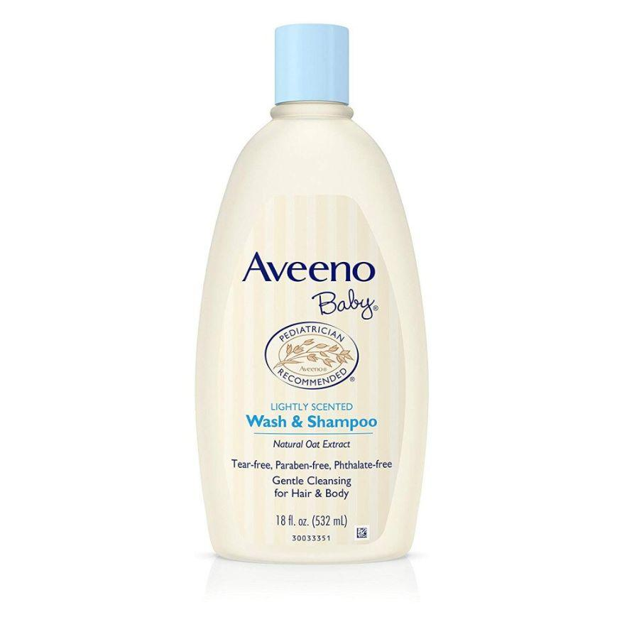 Aveeno Baby Wash & Shampoo, 532 ml