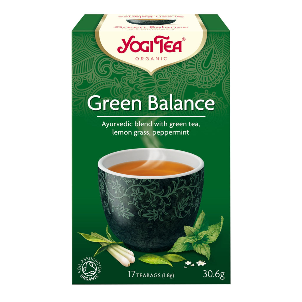 Yogi Green Balance Organic Tea, 17 ct