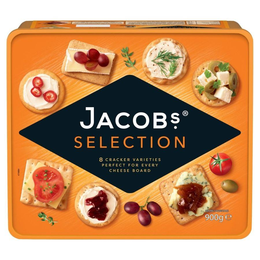 Jacob's Biscuits for Cheese Tin, 900 g