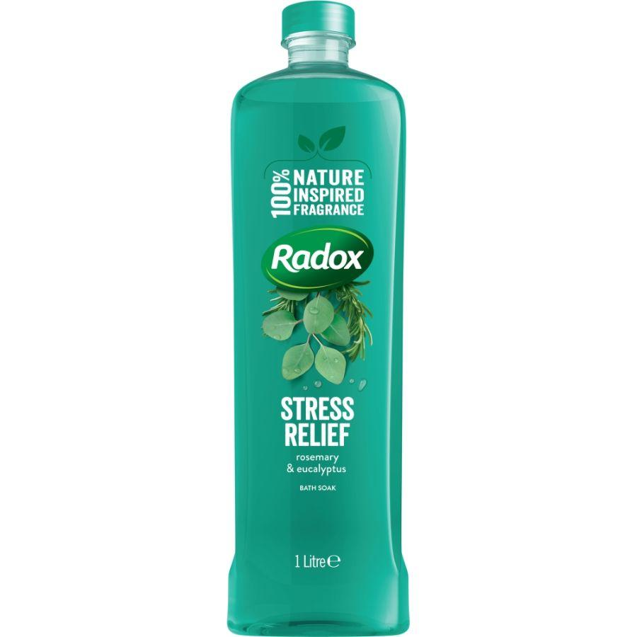 Radox Herbal Stress Relief Bath Soak, 1 L