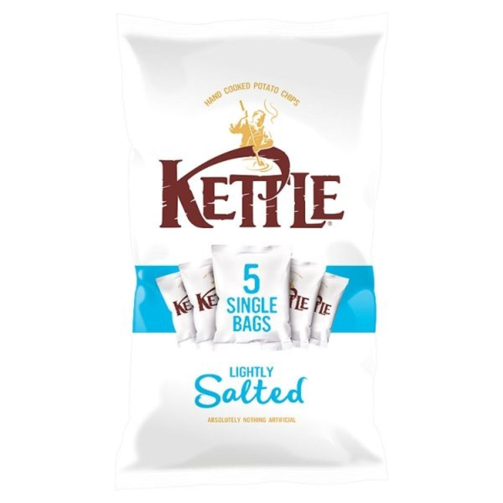 Kettle Chips Lightly Salted, 5x 30 g