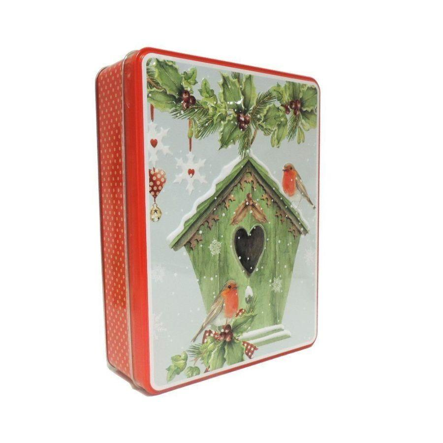 Grandma Wild's Red Bird House Tin, 400 g