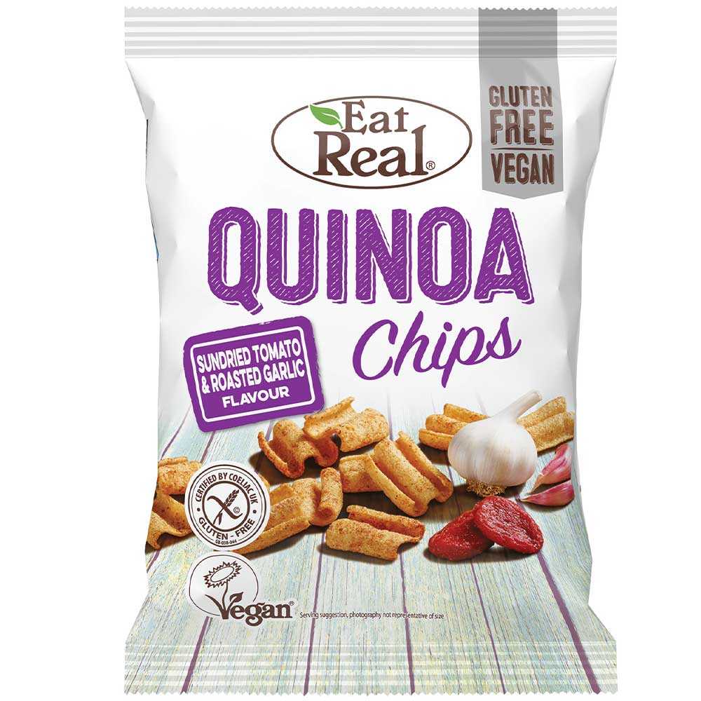 Eat Real Quinoa Sundried Tomato & Roasted Garlic, 80 g