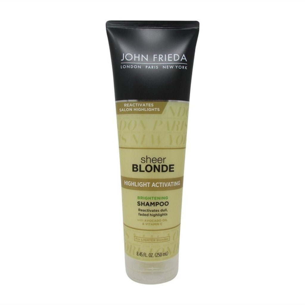John Frieda, Sheer Blonde Highlight Activating Enhancing Shampoo, 8.45 oz
