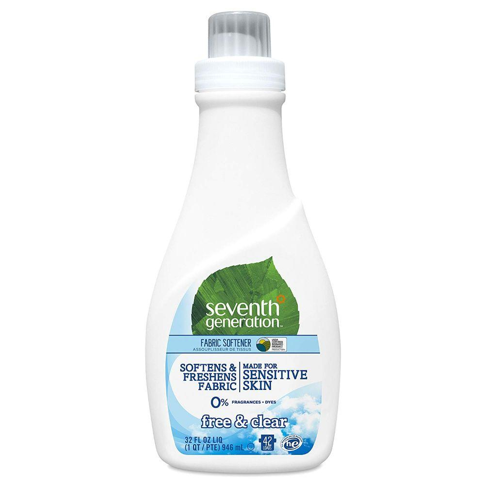 Seventh Generation, Fabric Softener Free & Clear, 32 oz