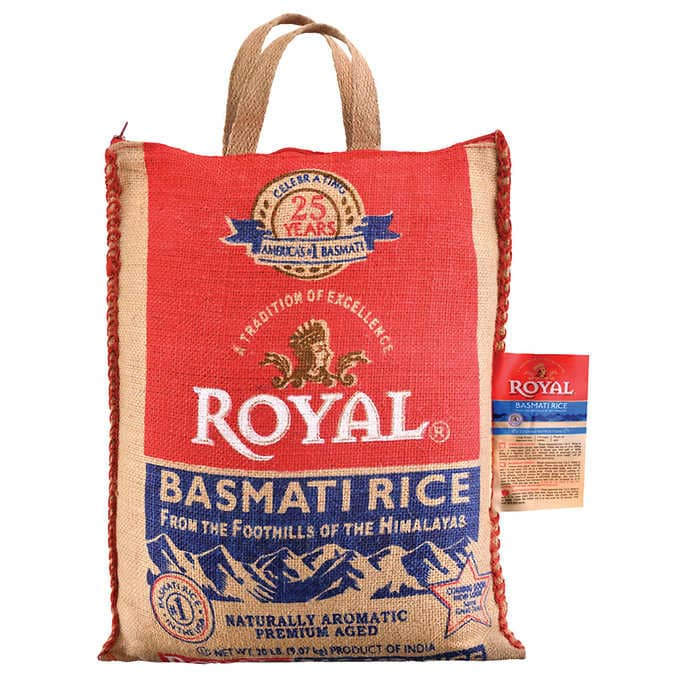 Royal, Basmati Rice, 20 lb