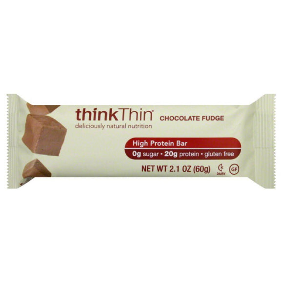 Think Thin High Protein Bar Chocolate Fudge, 2.1 oz