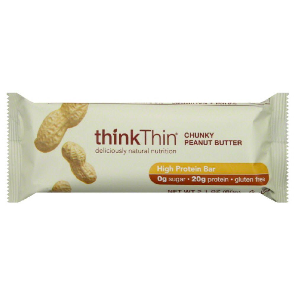 Think Thin High Protein Bar Chunky Peanut Butter, 2.1 oz