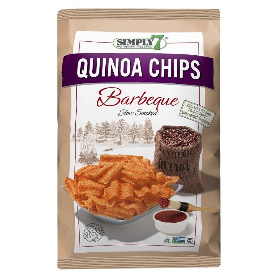 Simply 7 Gluten Free Quinoa Chips Barbeque, 79 g