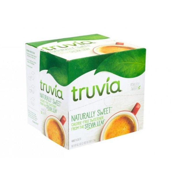 Stevia Packets Truvia, 400 ct
