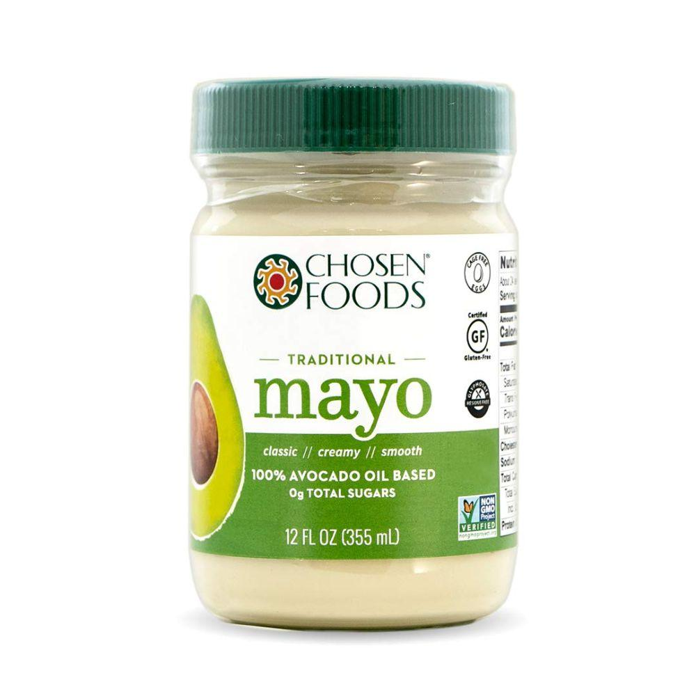 Chosen Foods Gluten Free Avocado Oil Based Mayo, 12 oz