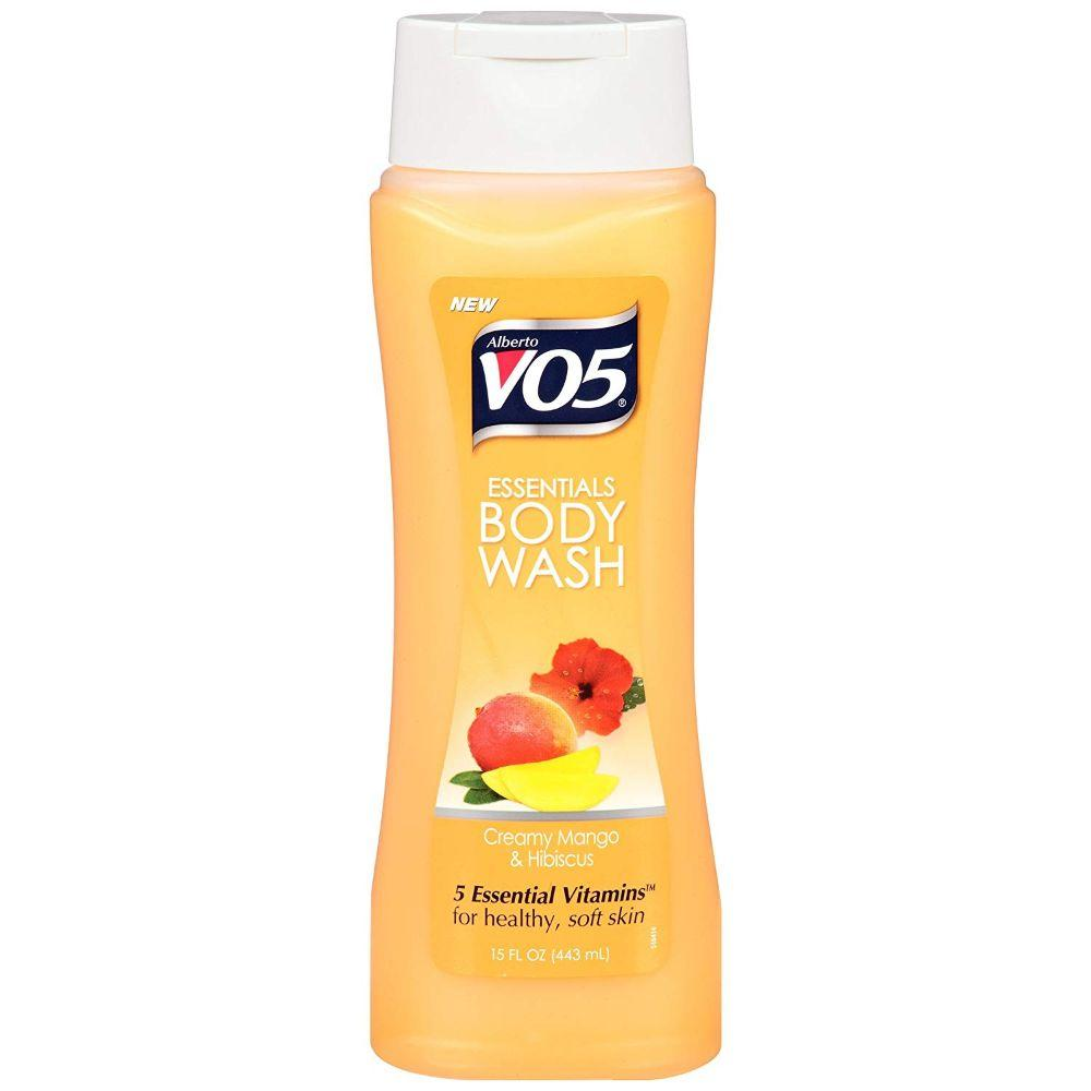 VO5, Creamy Mango & Hibiscus Body Wash, 15 oz