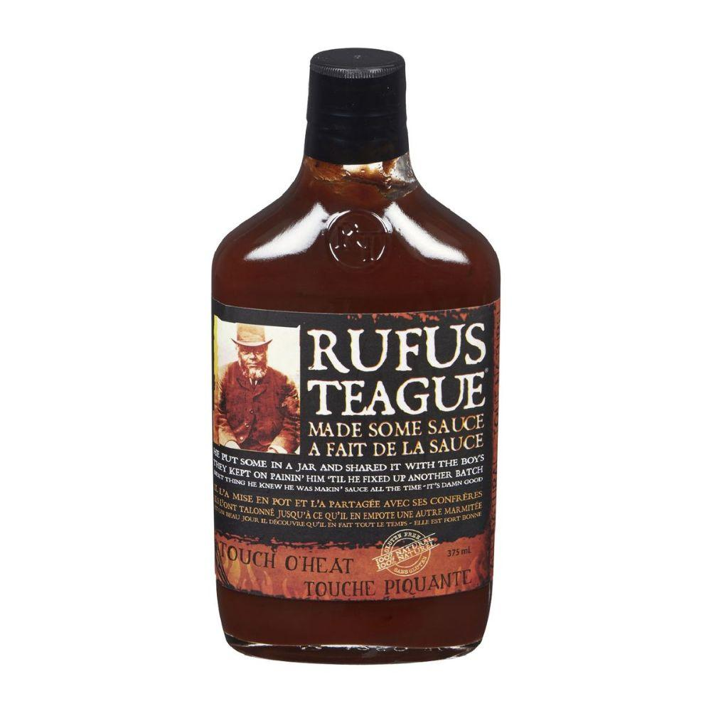 Rufus Teague Touch O' Heat Sauce, 16 oz