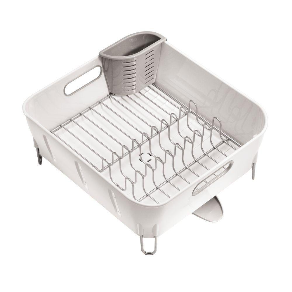 Simple Human, White Compact Dishrack