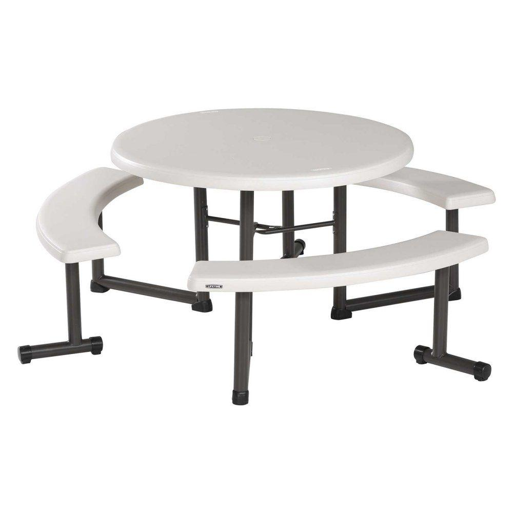 Lifetime, Round Picnic Table, 44""
