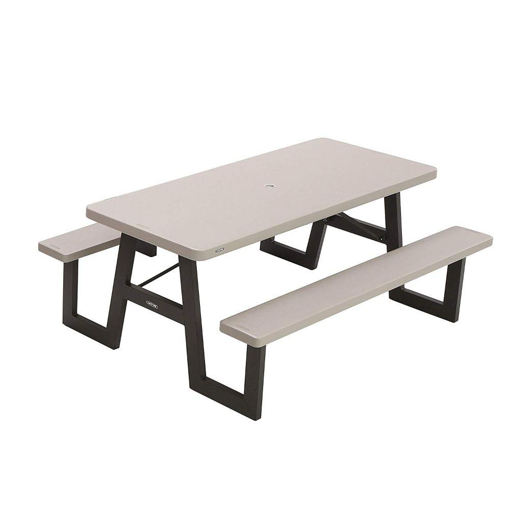Lifetime, Folding Picnic Table 72 X 57 In