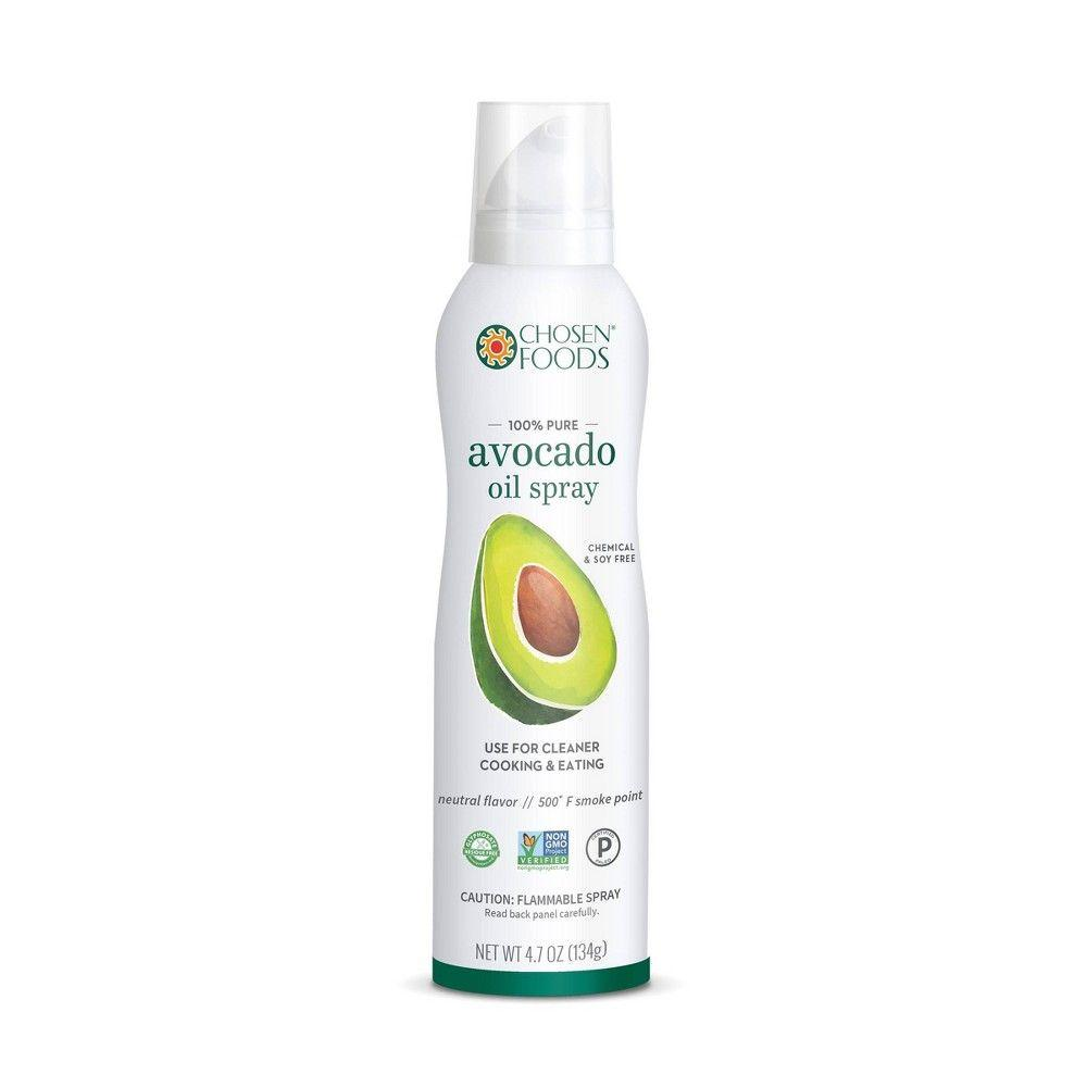 Chosen Foods 100% Pure Avocado Oil Spray, 4.7 oz