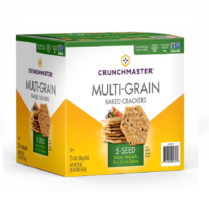 Crunchmaster MultiGrain Gluten Free Crackers, 28 oz
