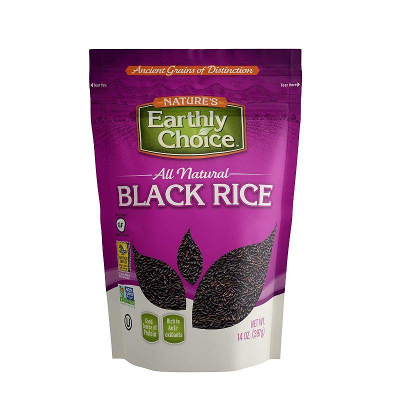 Nature's Earthly Choice Gluten Free Black Rice, 14 oz