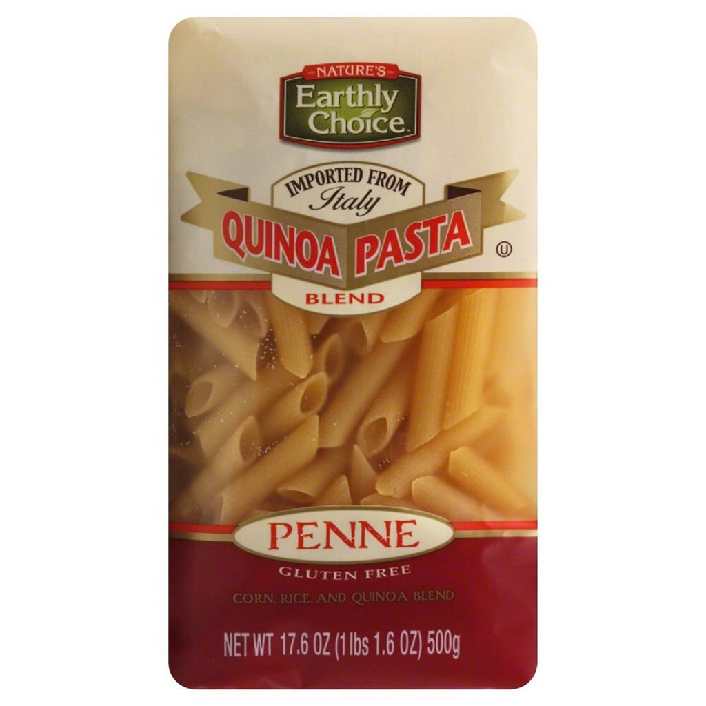Nature's Earthly Choice, Quinoa Pasta Blend Penne 17.6 oz