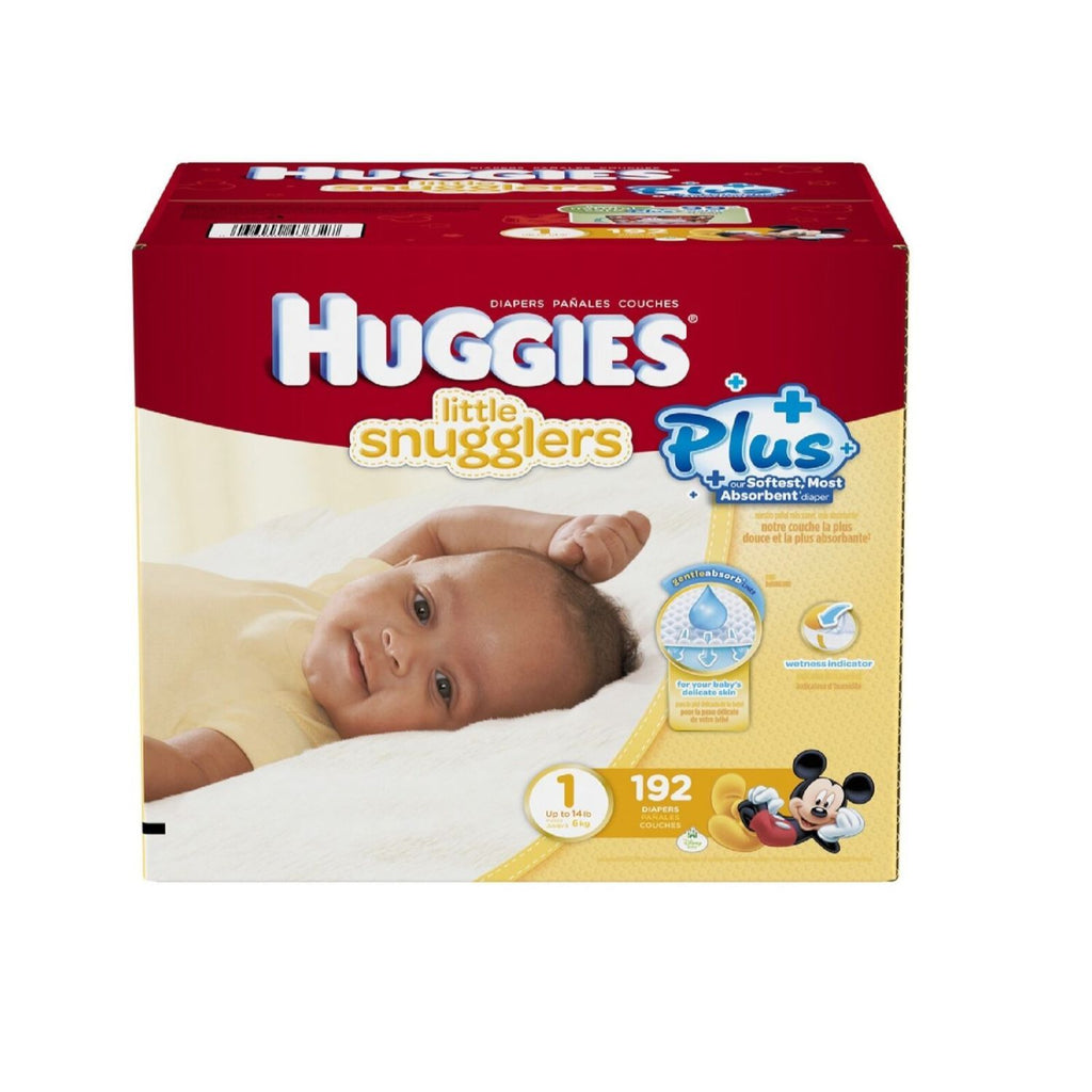 Huggies, Diapers Size 1, 192 ct