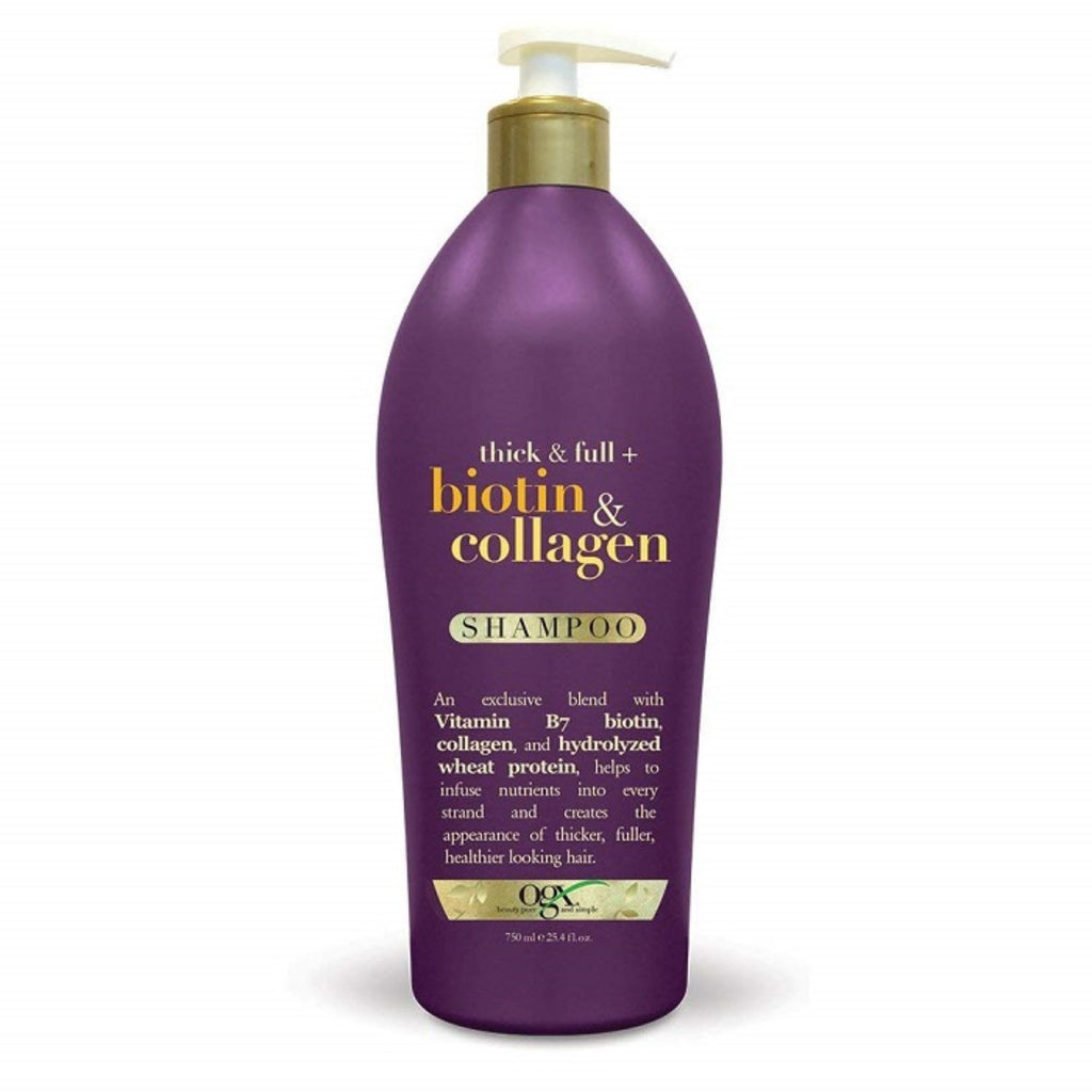 OGX, Biotin Collagen Shampoo, 25.4 oz