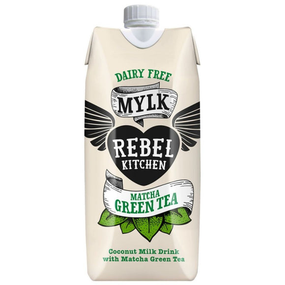 Rebel Kitchen Matcha Green Tea Milk Dairy-Free, 330 ml