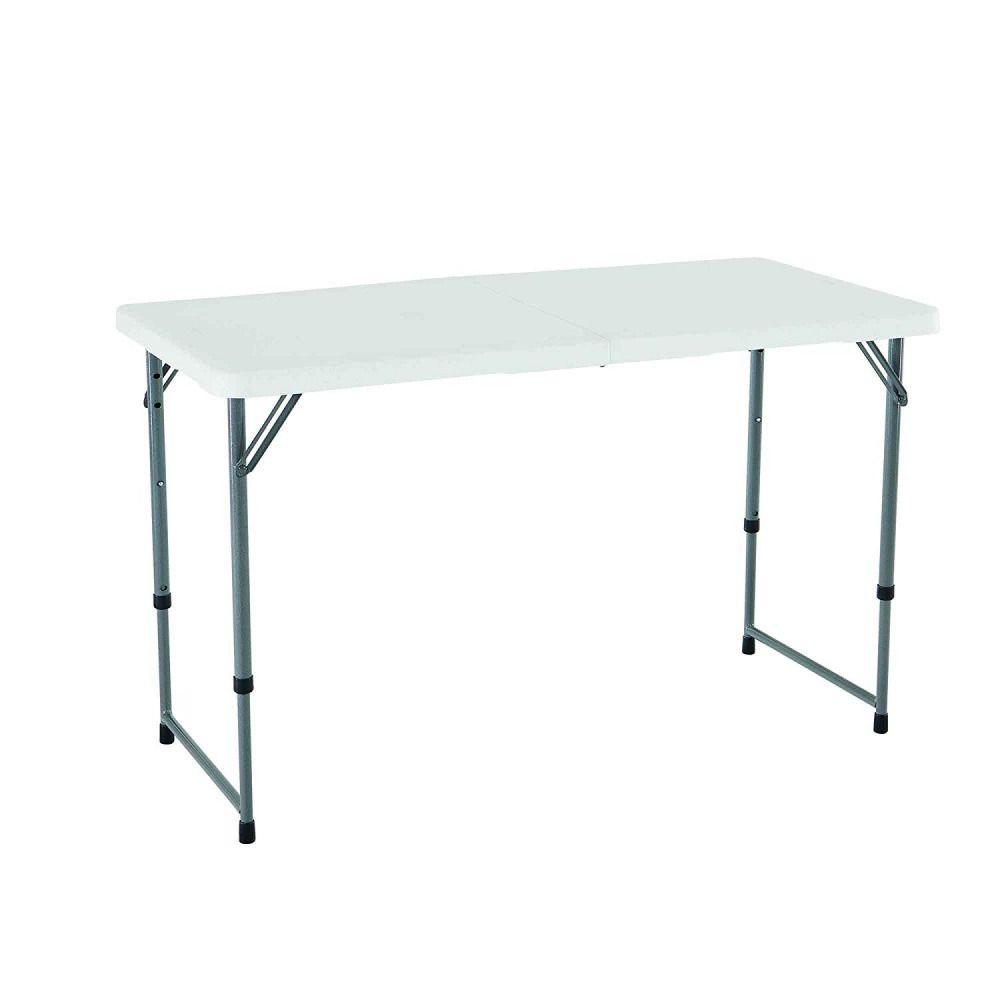 Lifetime, 4-Foot Adjustable Table