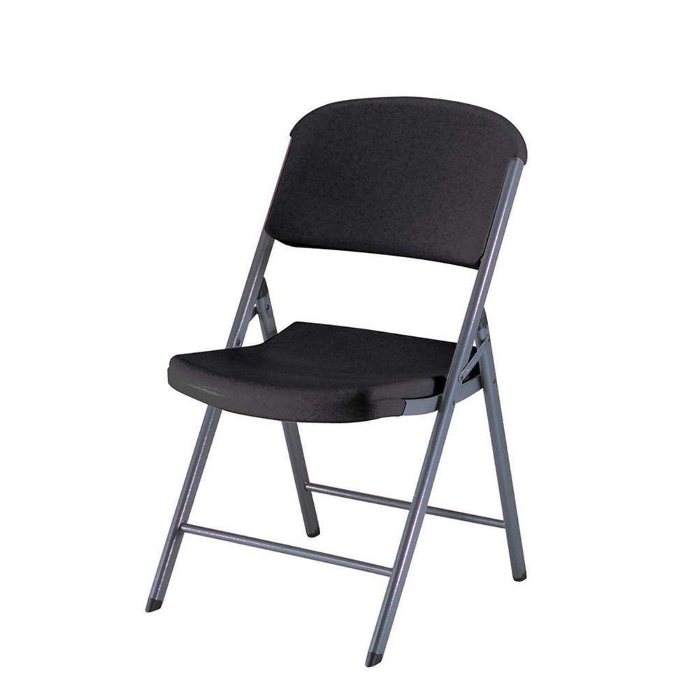 Lifetime, Folding Chair, Black