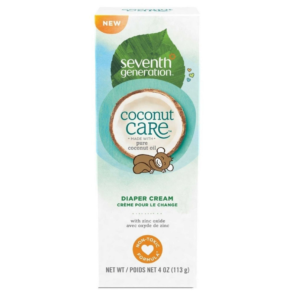 Seventh Generation, Coconut Care Diaper Cream, 4 oz