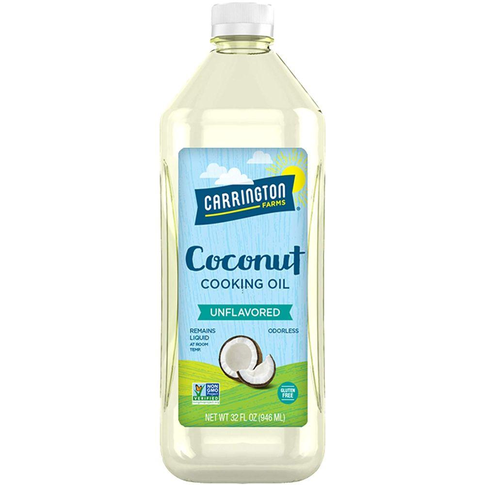 Carrington Farms Coconut Cooking Oil Unflavored, 32 oz