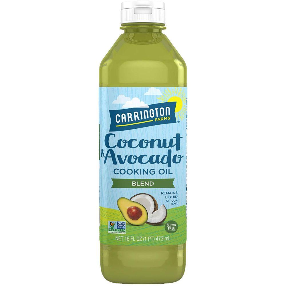 Carrington Farms Coconut & Avocado Cooking Oil Blend,16 oz