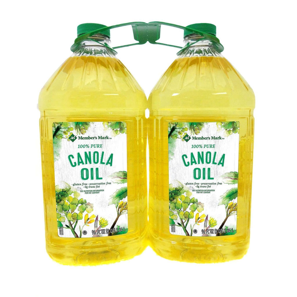 Member's Mark, Canola Oil, 2 x 3 qt