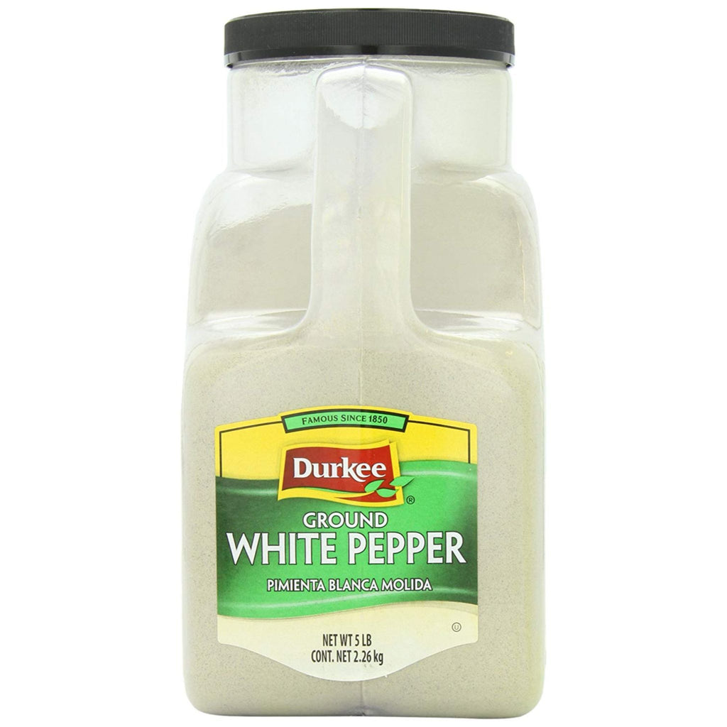 Durkee, Ground White Pepper, 5 lb