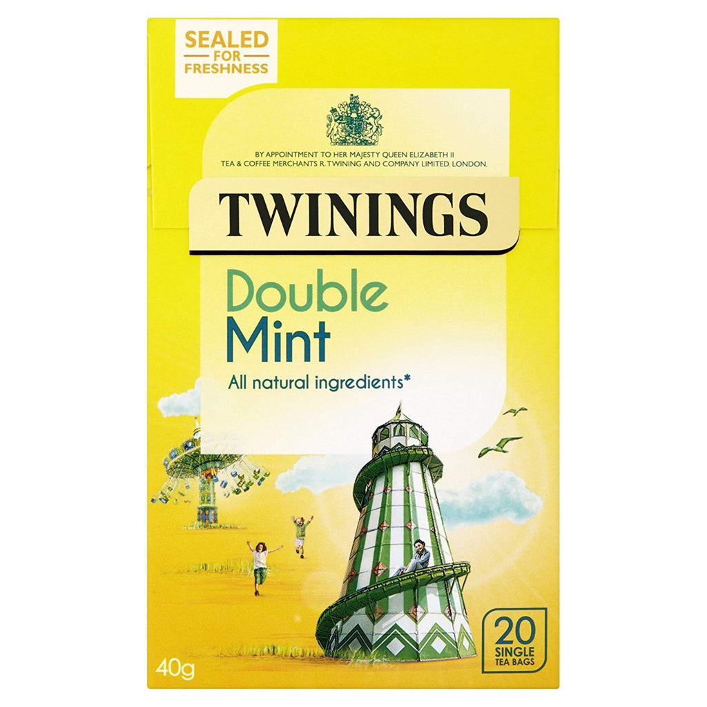 Twinings Double Mint Sensation Tea, 20 ct