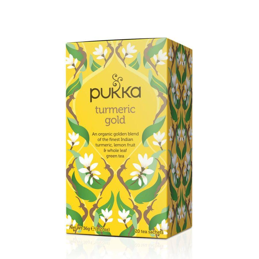 Pukka Turmeric Gold Tea, 20 ct