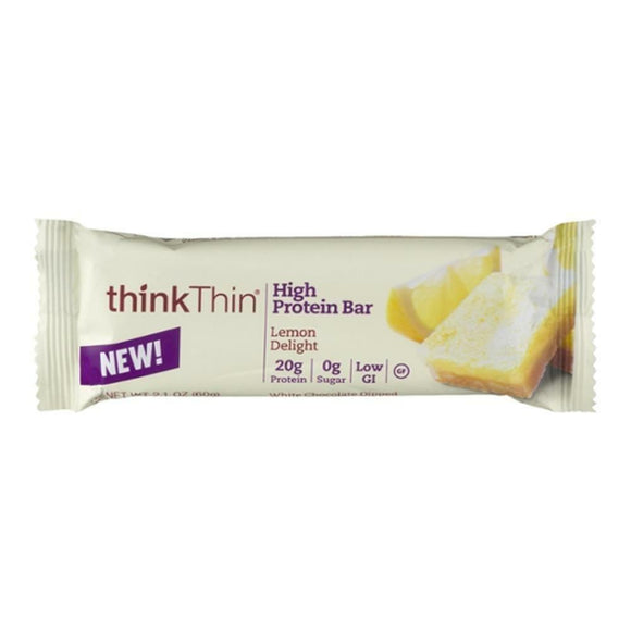 Think Thin High Protein Bar Lemon Delight, 2.1 oz
