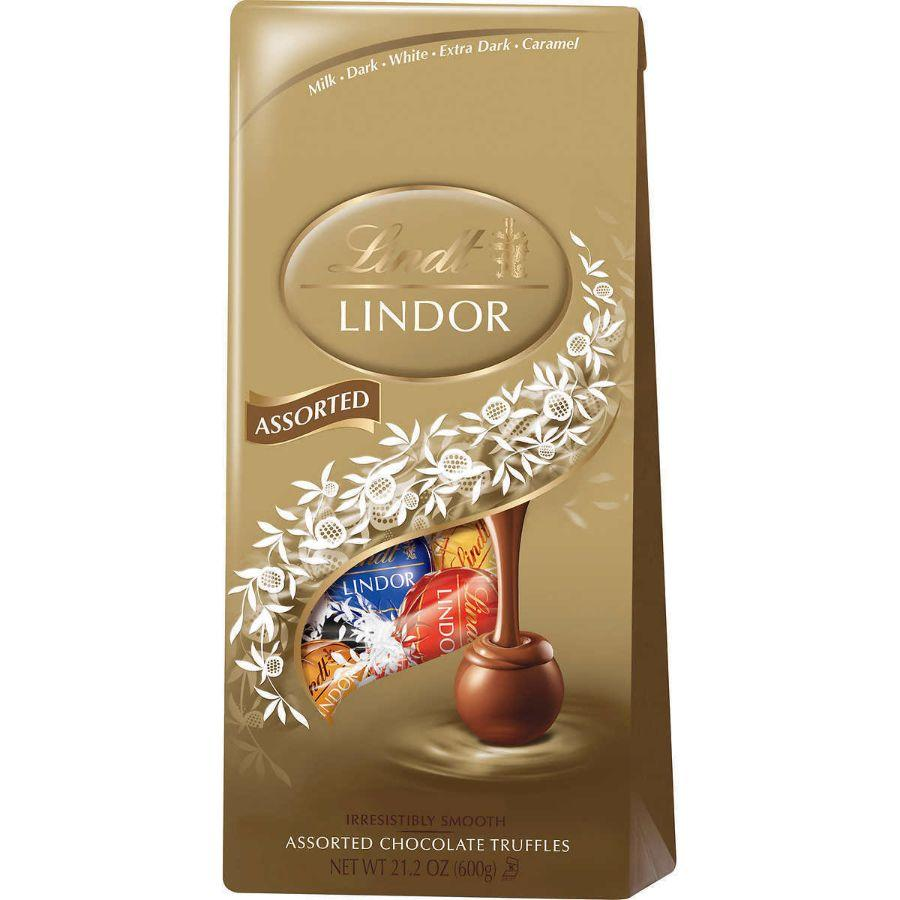Lindt Lindor Assorted Chocolate Truffles, 21.2 oz
