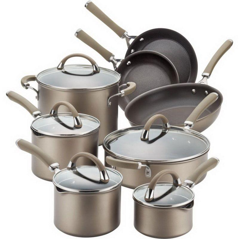Circulon Premier Professional Hard Anodized  13-piece Cookware Set