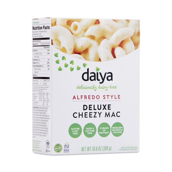 Daiya Vegan Gluten Free Alfredo Cheesy Mac, 10.6 oz
